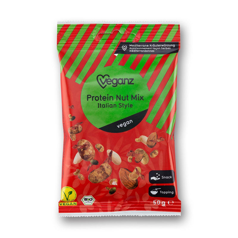 Sports Supplements - Veganz - Organic Protein Nut Mix Italian Style (50g)