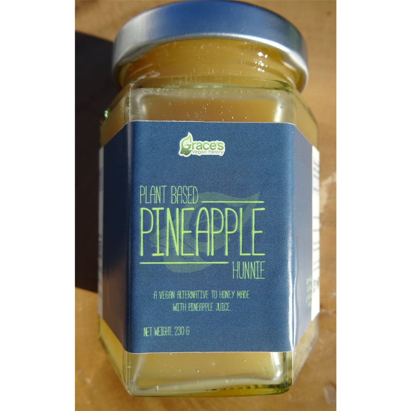 Sugars, Sweeteners, Syrups - Grace's Vegan Pantry - Planted Based Pineapple Hunnie (Honey Alternative) (230g)