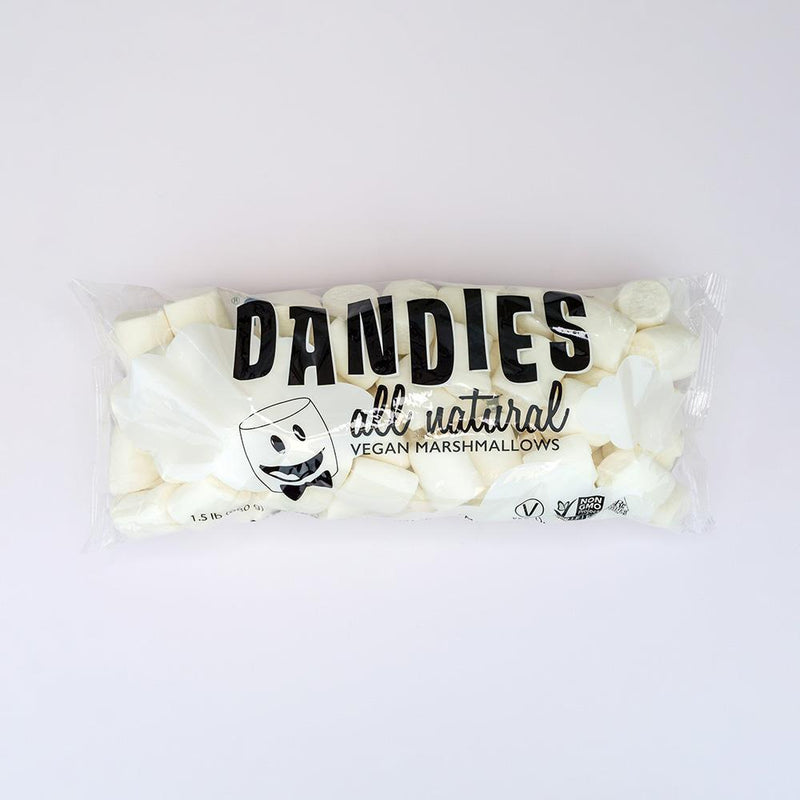 Sweets - Dandies - All Natural Vanilla Marshmallows - Catering Size (680g)