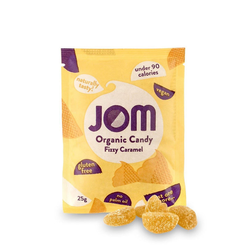 Sweets - Jom - Organic Candy - Fizzy Caramel (25g)