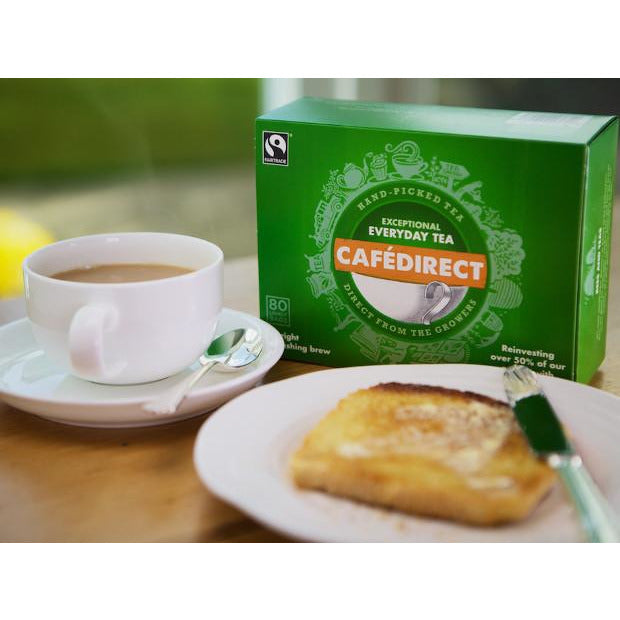 Cafe Direct Exceptional Everyday Tea (80 Bags) (250g) - TheVeganKind