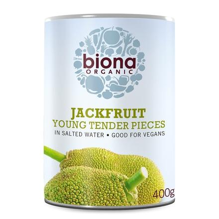 Tinned Fruit & Vegetables - Biona Organic Jackfruit In Salted Water (400g)