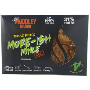 (Use By 14/08) Moodley Manor More-ish Mince (450g) - TheVeganKind