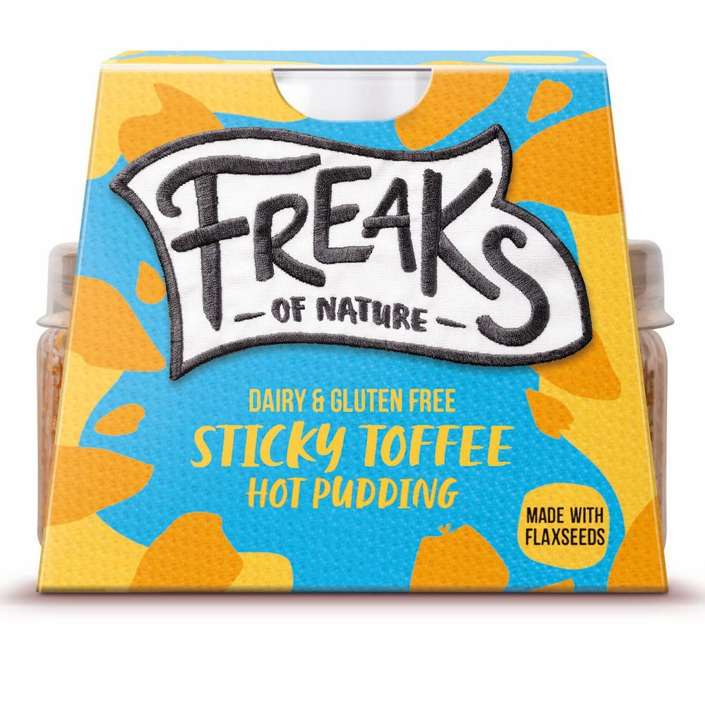 Yogurts & Desserts - Freaks Of Nature - Hot Sticky Toffee Pudding (100g)