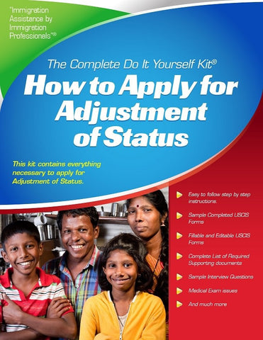 Immigration visa kits complete do it yourself immigration kits adjustment of status i 140 based complete how to guide download version solutioingenieria Gallery