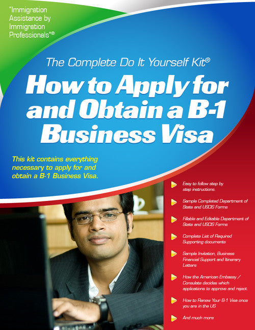 B 1 visa for business visitors complete do it yourself kit b 1 visa for business visitors complete do it yourself kit solutioingenieria Gallery