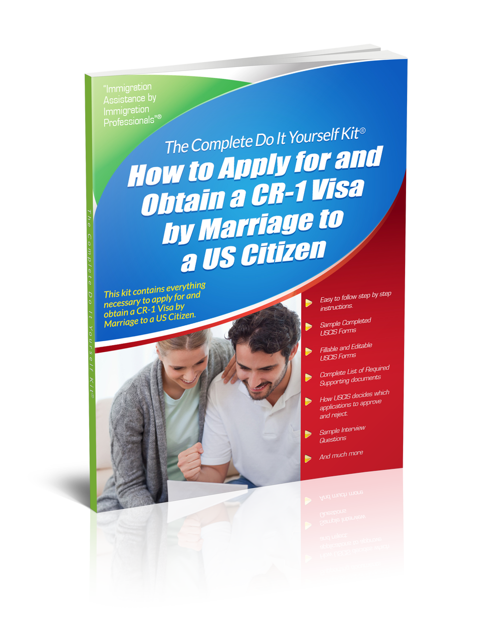 Green card by marriage to a us citizen complete do it yourself green card for spouse of a us citizen complete do it yourself kit solutioingenieria Choice Image