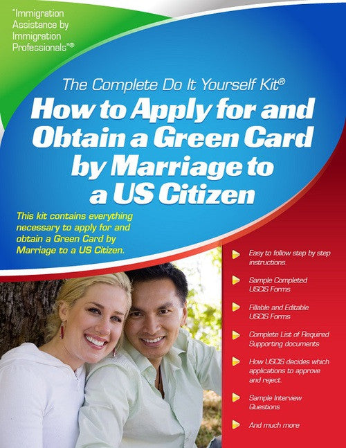 Green card by marriage to a us citizen complete do it yourself green card by marriage to a us citizen complete do it yourself kit solutioingenieria Gallery