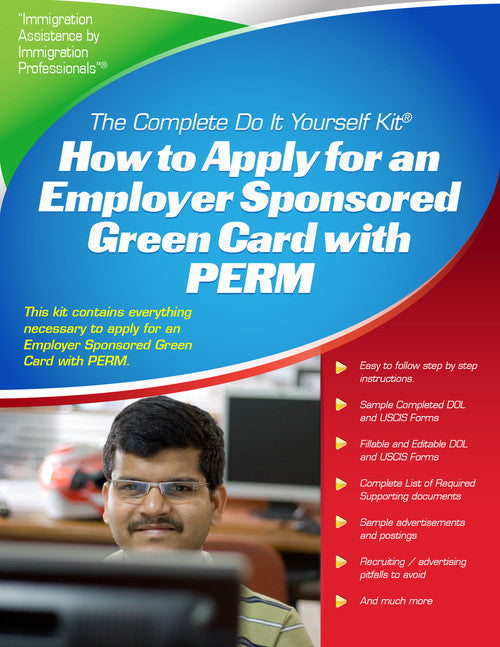 Employer sponsored labor certification using perm the complete do employer sponsored labor certification using perm the complete do it yourself kit solutioingenieria Gallery