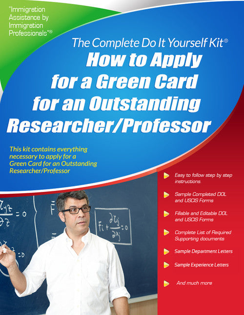 Outstanding professor researcher green card complete do it outstanding professor researcher green card complete do it yourself kit solutioingenieria Gallery