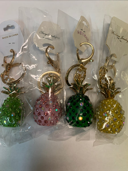 197 Pineapple Key Chains