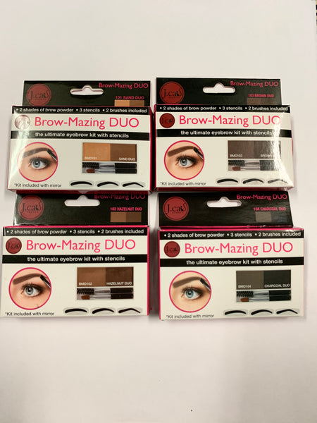 Brow-Mazing Duo