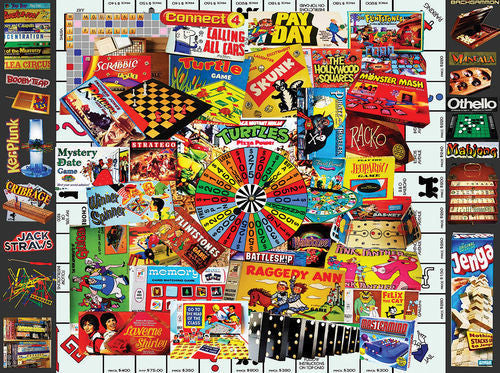 White Mountain Puzzles Favorite Games - 300 Piece Jigsaw Puzzle