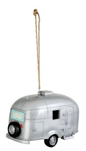 Red Carpet Studios Ltd. Birdie in the Woods Birdhouse Silver Camper