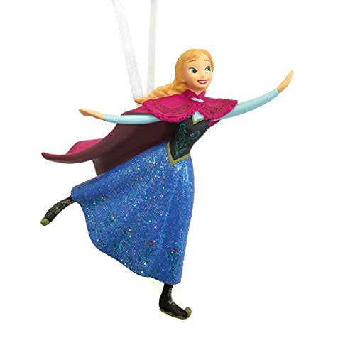 Hallmark Disney Frozen Anna Skating Christmas Ornament