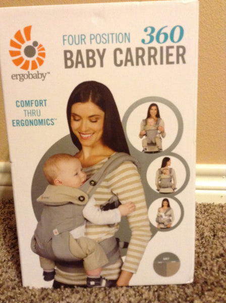 Ergobaby Four Position 360 Baby Carrier - Gray