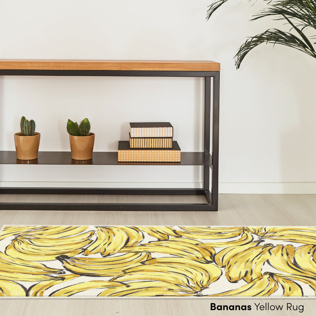 Bananas Yellow Rug