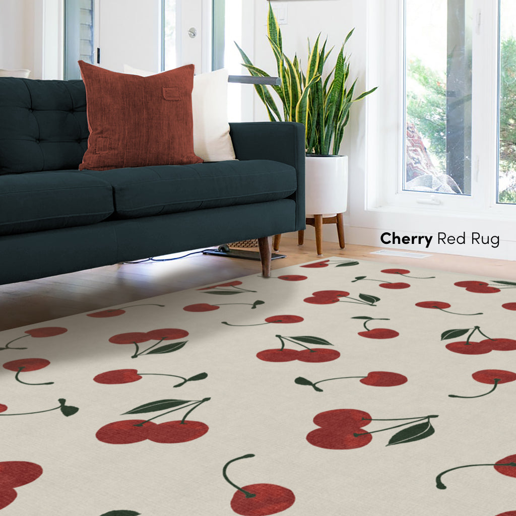 Cherry Red Rug