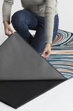 Machine Washable 5'x7' Agate Arctic Blue Rug Rug