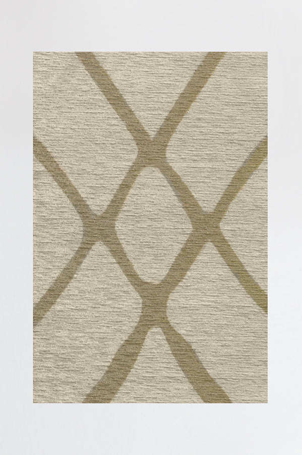 Machine Washable 2.5'x7' Amalia Natural Rug