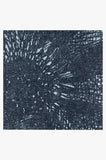 Machine Washable 5'x7' Aprilios Navy Rug Rug