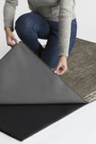Machine Washable 5'x7' Beni Warm Grey Rug Rug