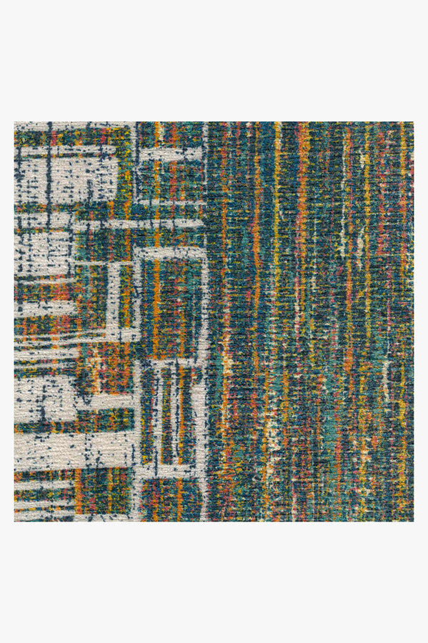 Machine Washable 5'x7' Beni Polychrome Rug