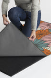 Machine Washable 2.5'x7' Daphne Orange Jasper Rug Rug