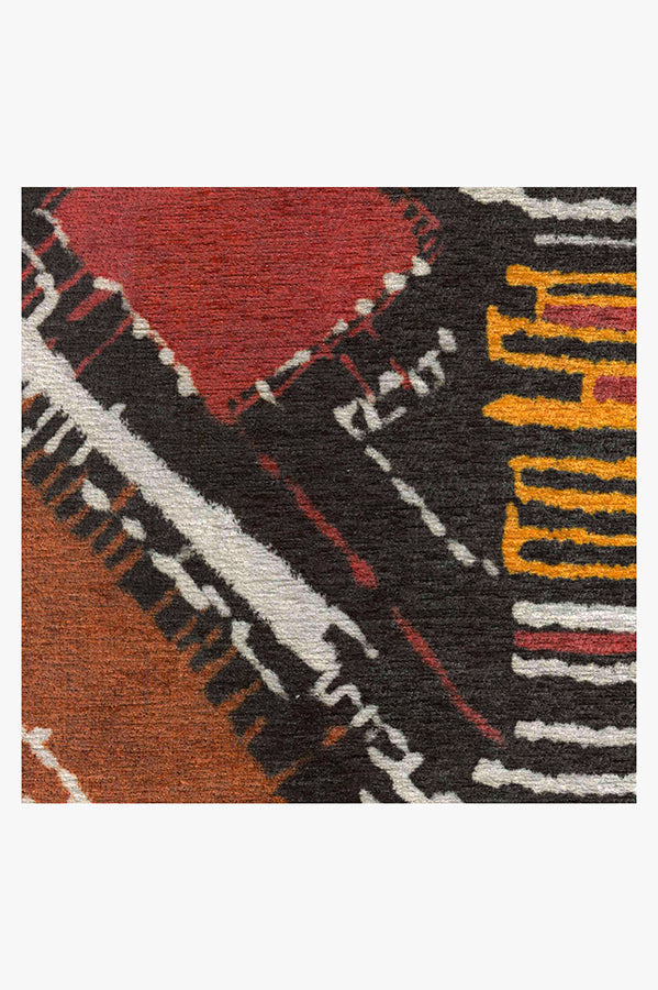 Machine Washable 5'x7' Delikesh Autumn Rug