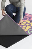 Machine Washable 2.5'x7' Emma Floral Lavender Rug Rug