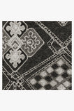 Machine Washable 5'x7' Farah Charcoal Rug Rug