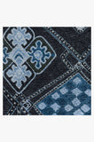 Machine Washable 2.5'x7' Farah Midnight Rug Rug