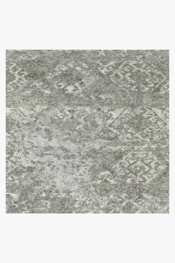 Machine Washable 2.5'x7' Gabbeh Grey Rug