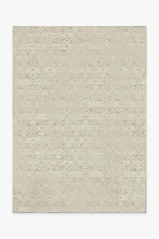 Heathered Solid Chambray Rug