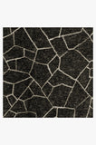 Machine Washable 5'x7' Kella Black Rug Rug