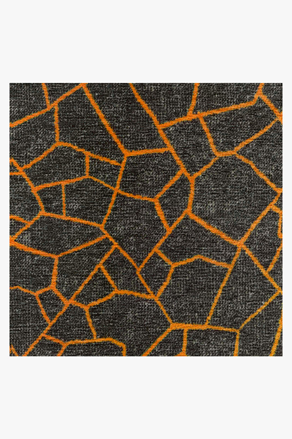 Machine Washable 5'x7' Kella Sunburst Rug
