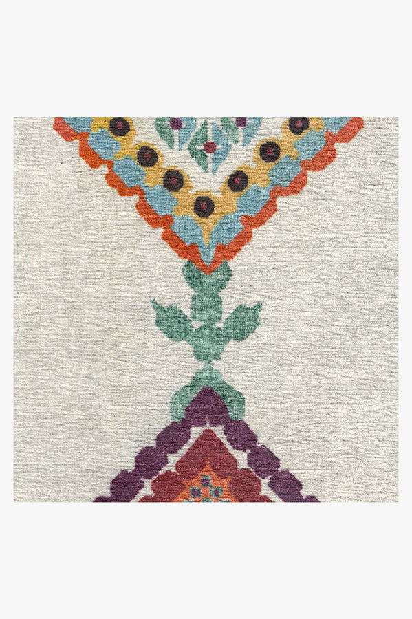 Machine Washable 2.5'x7' Kenza Polychrome Rug