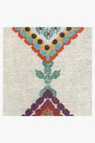 Machine Washable 2.5'x7' Kenza Polychrome Rug Rug