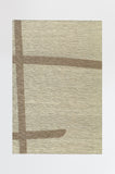Machine Washable 5'x7' Lines Natural Rug Rug
