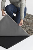 Machine Washable 5'x7' Lunara Geo Lava Rock Rug Rug