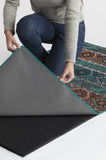 Machine Washable 5'x7' Lunara Geo Polychrome Rug Rug