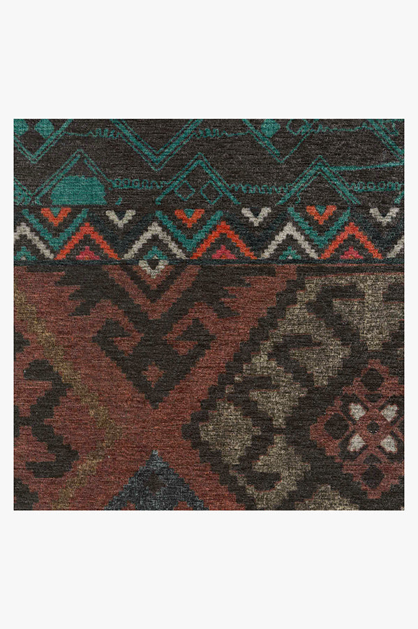Machine Washable 8'x10' Lunara Geo Polychrome Rug