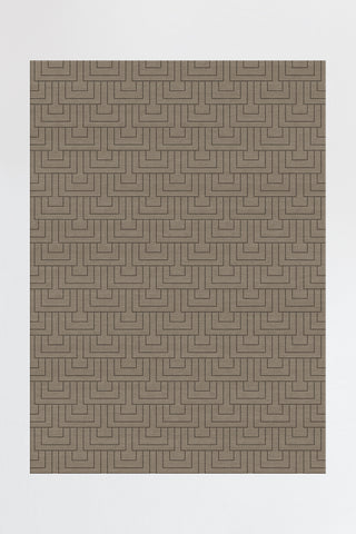 Modern Deco Taupe Grey