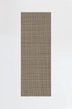Machine Washable 2.5'x7' Modern Grid Grey Taupe Rug Rug