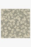 Machine Washable 2.5'x7' Posy Grey Rug Rug