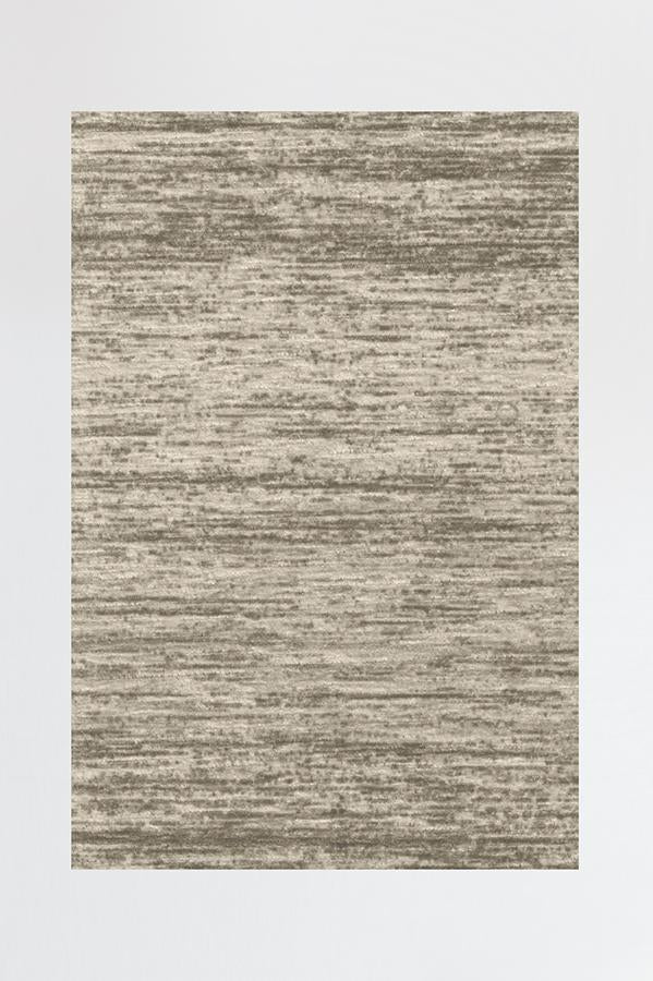 Machine Washable 2.5'x7' Solid Tonal Sand Rug