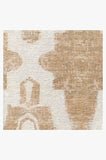 Machine Washable 5'x7' Soraya Trellis Rose Gold Rug Rug