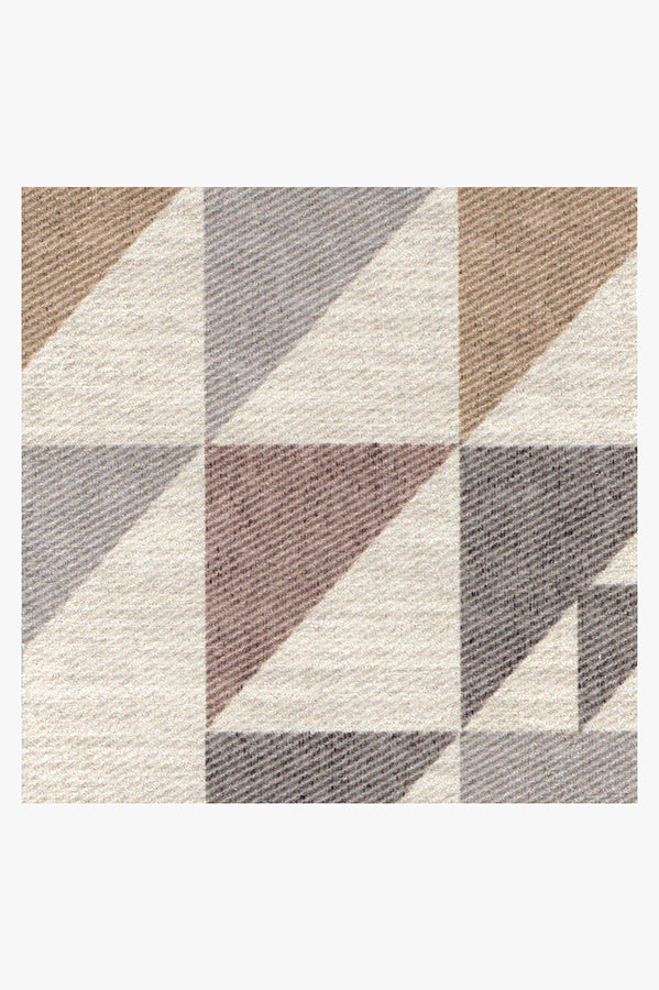 Machine Washable 5'x7' Tierce Multicolor Rug