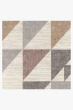 Machine Washable 5'x7' Tierce Multicolor Rug Rug