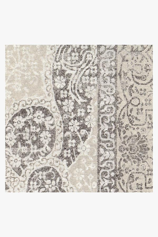 Machine Washable 2.5'x7' Tisa French Grey Rug